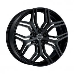 MAK Kingdom 9.5x22 PCD5x120 ET49 DIA 72.6  Gloss Black